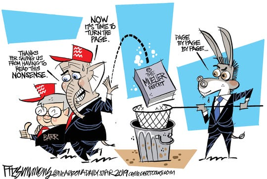 Dems catch Mueller report