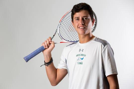 Sean Kamyshev, Seacrest Country Day School, Tennis, Junior