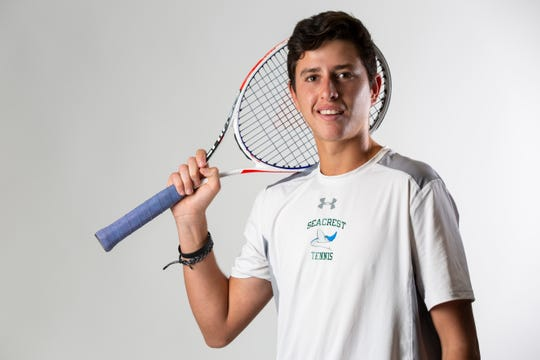 Sean Kamyshev, Seacrest Country Day School, Tennis, Junior