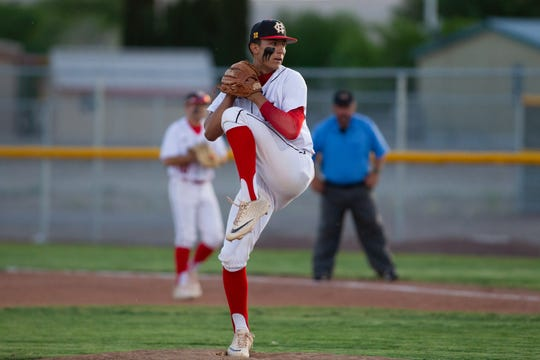 Centennial pitcher Wilson Bannister is 7-0 this season and a verbal commit to New Mexico State University.