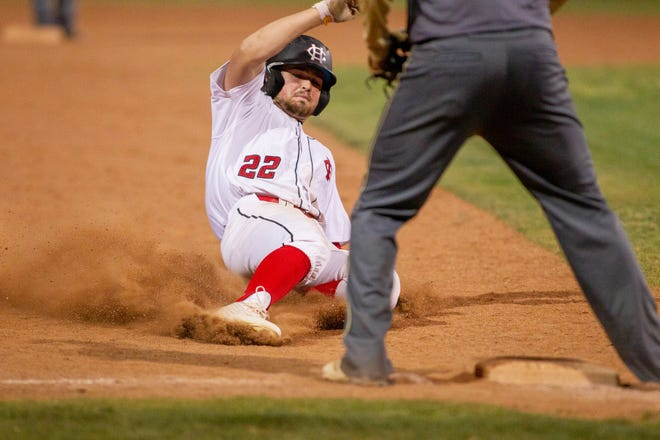 Lance Frost and the Centennial baseball team have won 14 straight entering Friday's doubleheader against Gadsden.