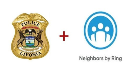 Livonia Police Department encourages residents to download the Neighbors by Ring app.