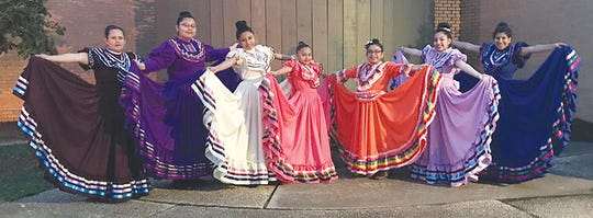Grupo Folklorico San Patricio, out of Loxley, Alabama, will perform multiple times throughout Pensacola on Cinco de Mayo afternoon this Sunday.