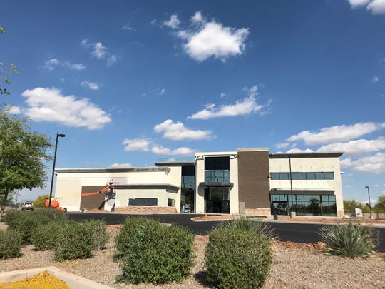 Gun Club 82, which is expected to open in late 2019, is sandwiched between Top Golf and Main Event near Ray Road and Santan Village Parkway in Gilbert.