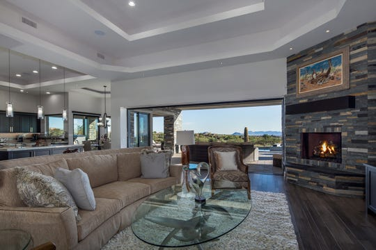 William and Mari Orke purchased this mansion in Scottsdale for $3.15M.