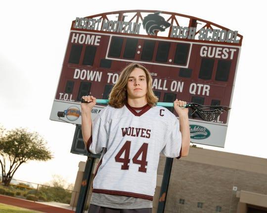 Desert Mountain lacrosse player Dawson Bienz