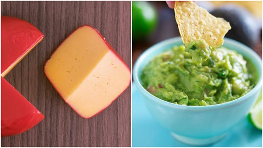 Gouda + guacamole = guacamole cheese? Yes, and it's imported from a Holland dairy and coming toU.S. grocery store chain Fresh Market for you to buy.