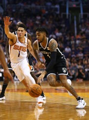 Could D'Angelo Russell and Devin Booker be teammates on the Phoenix Suns?