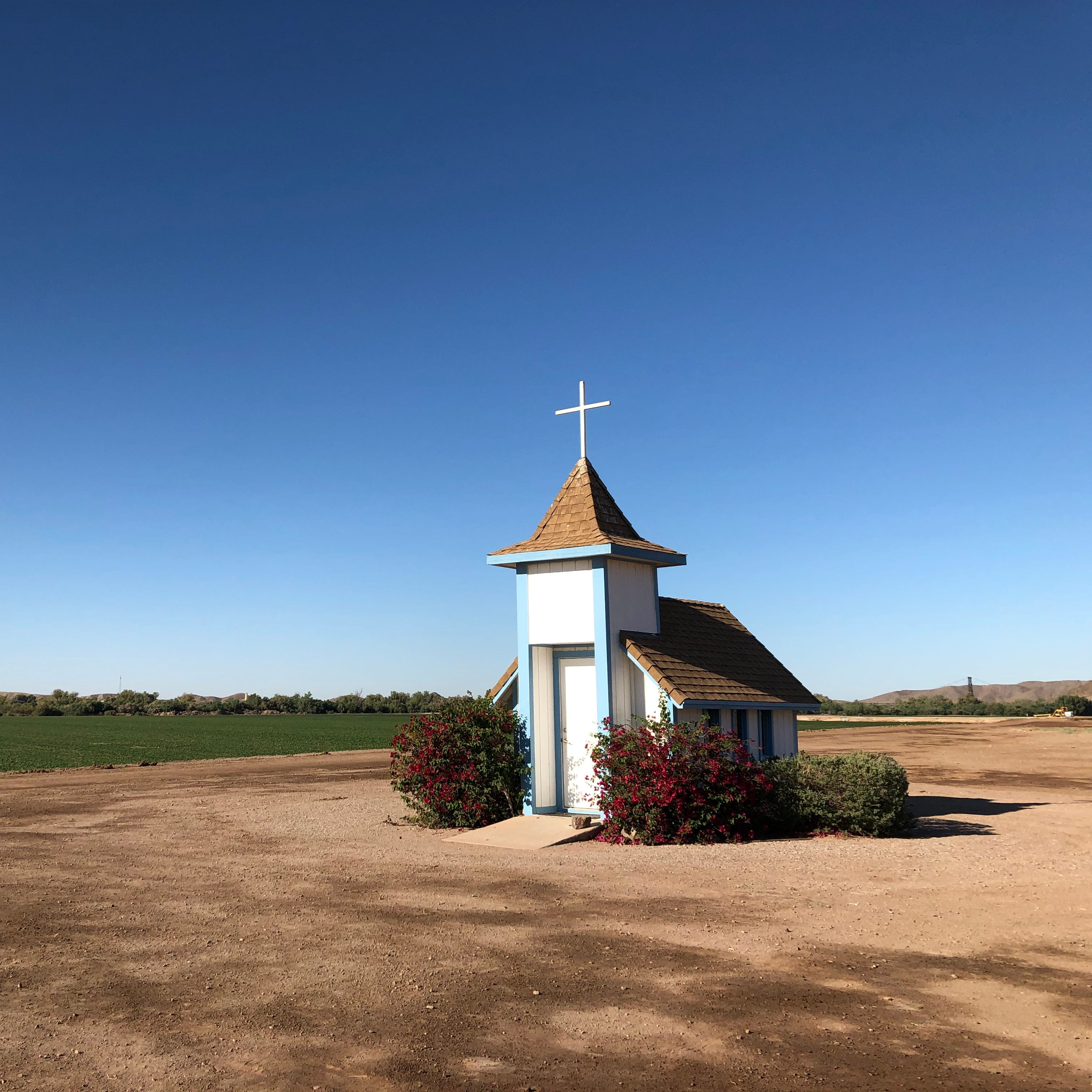 A tiny chapel outside Yuma offers a retreat for travelers and purpose for one family