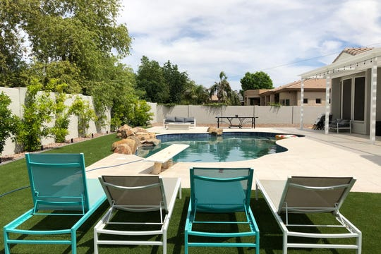 Jenn and Eric Daniels'  Morrison Ranch home in Gilbert has become a popular spot for their four children and their friends.