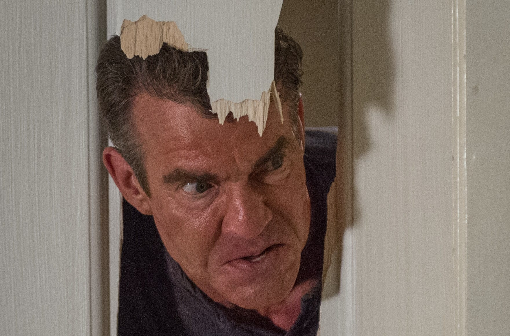 "The true nature of Charlie (Dennis Quaid) is quickly revealed in ""The Intruder."""