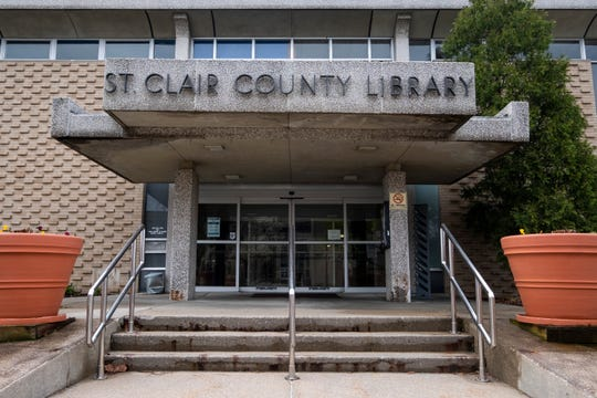 St. Clair County Library is considering options for a new main branch building.