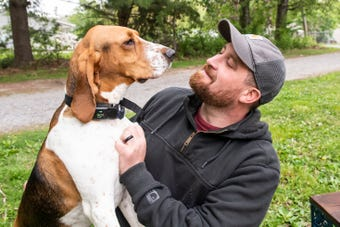 Edgar, a 4-year-old treeing walker coonhound, helped scare off a potential kidnapping in Waynesboro.