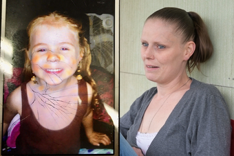 """""""I think my heart stopped. I literally think I was having a heart attack,"""" said Stephanie Moats about learning her 4-year-old daughter had been taken."""
