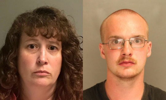 Tracy Lynn Dodd (left) and Michael Lee McClure (right).
