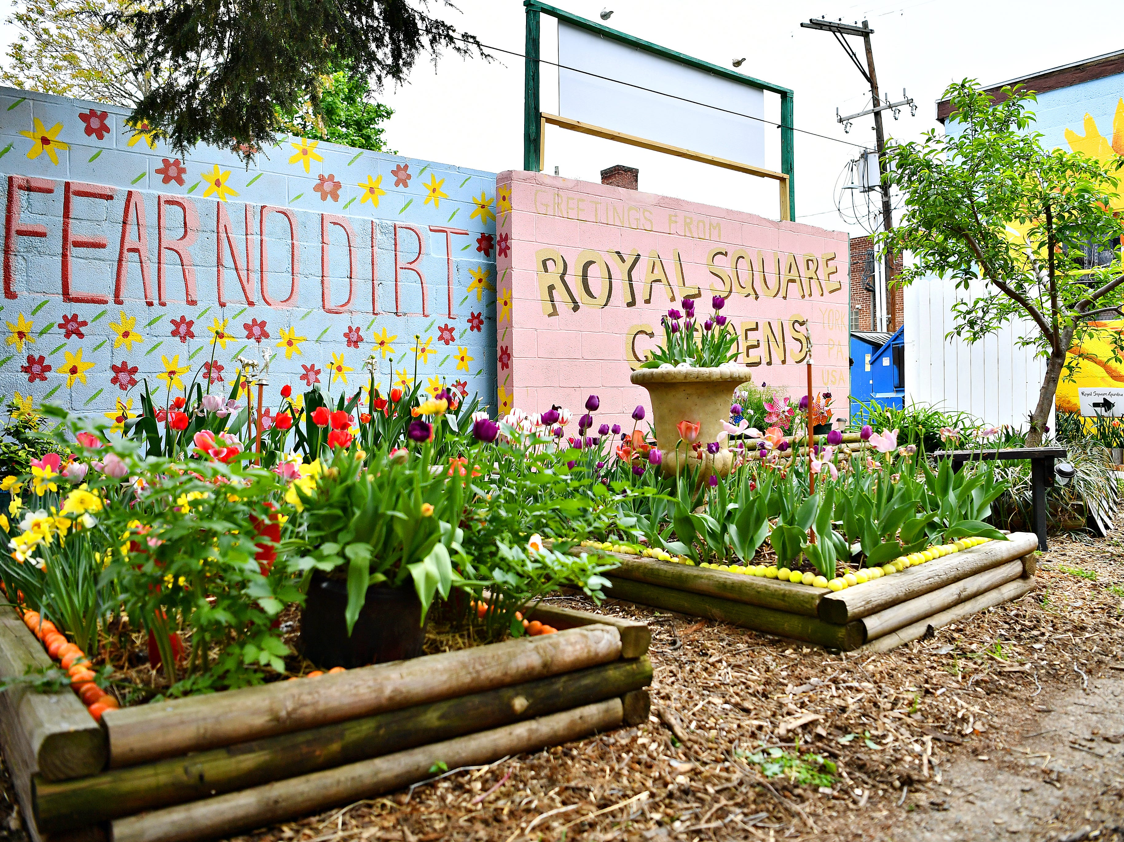 Royal Square Garden in York City, Wednesday, May 1, 2019. Dawn J. Sagert photo