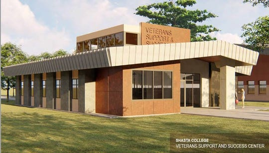 The new Veterans Support and Success Center at Shasta College will have more room for students and services.