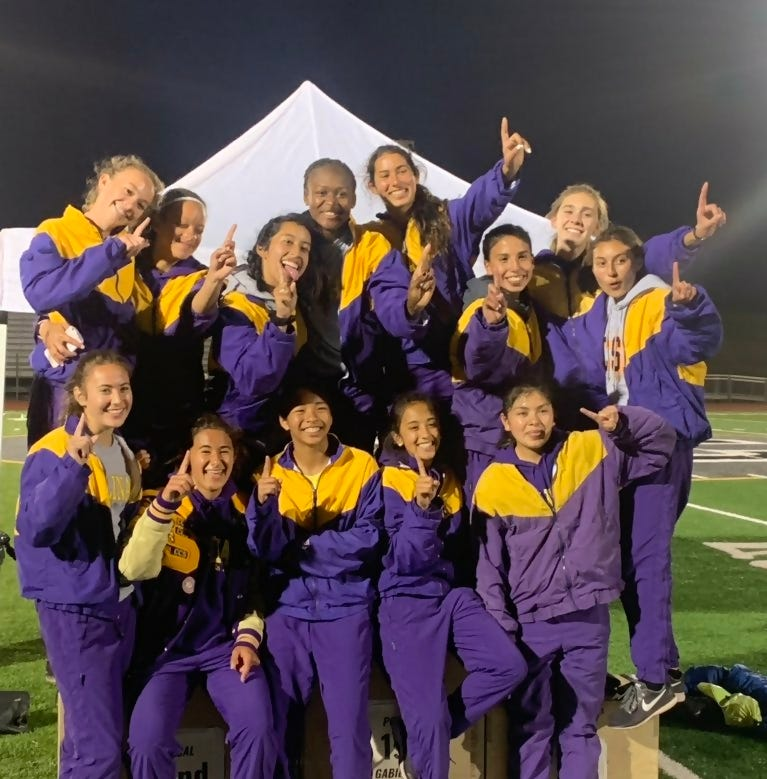 Last to first: How Salinas girls track completed a turnaround to become league champions