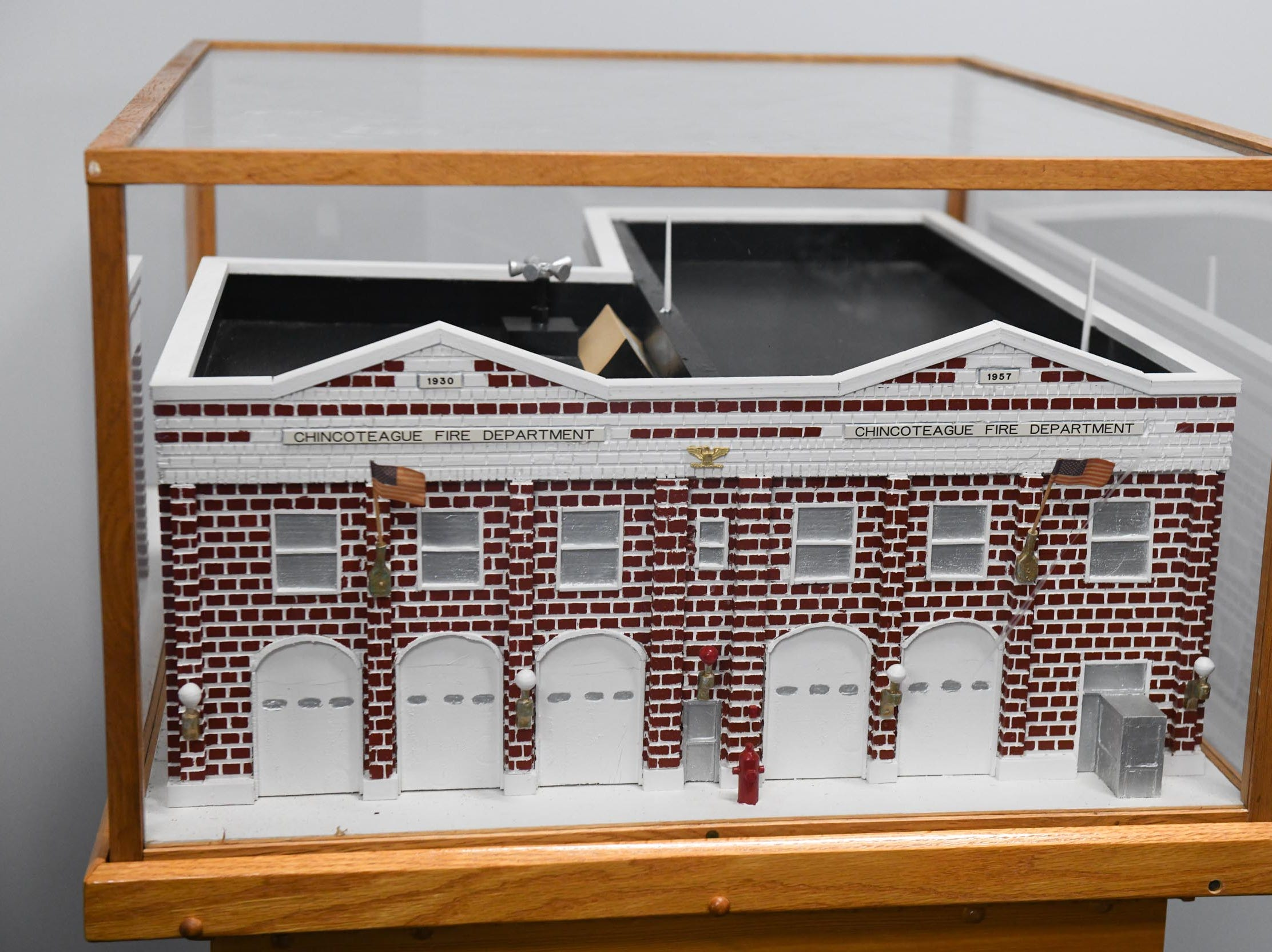 A model replica of the old fire department will have its forever home at the new Chincoteague Volunteer Fire Department at 5175 Chicken City Road.