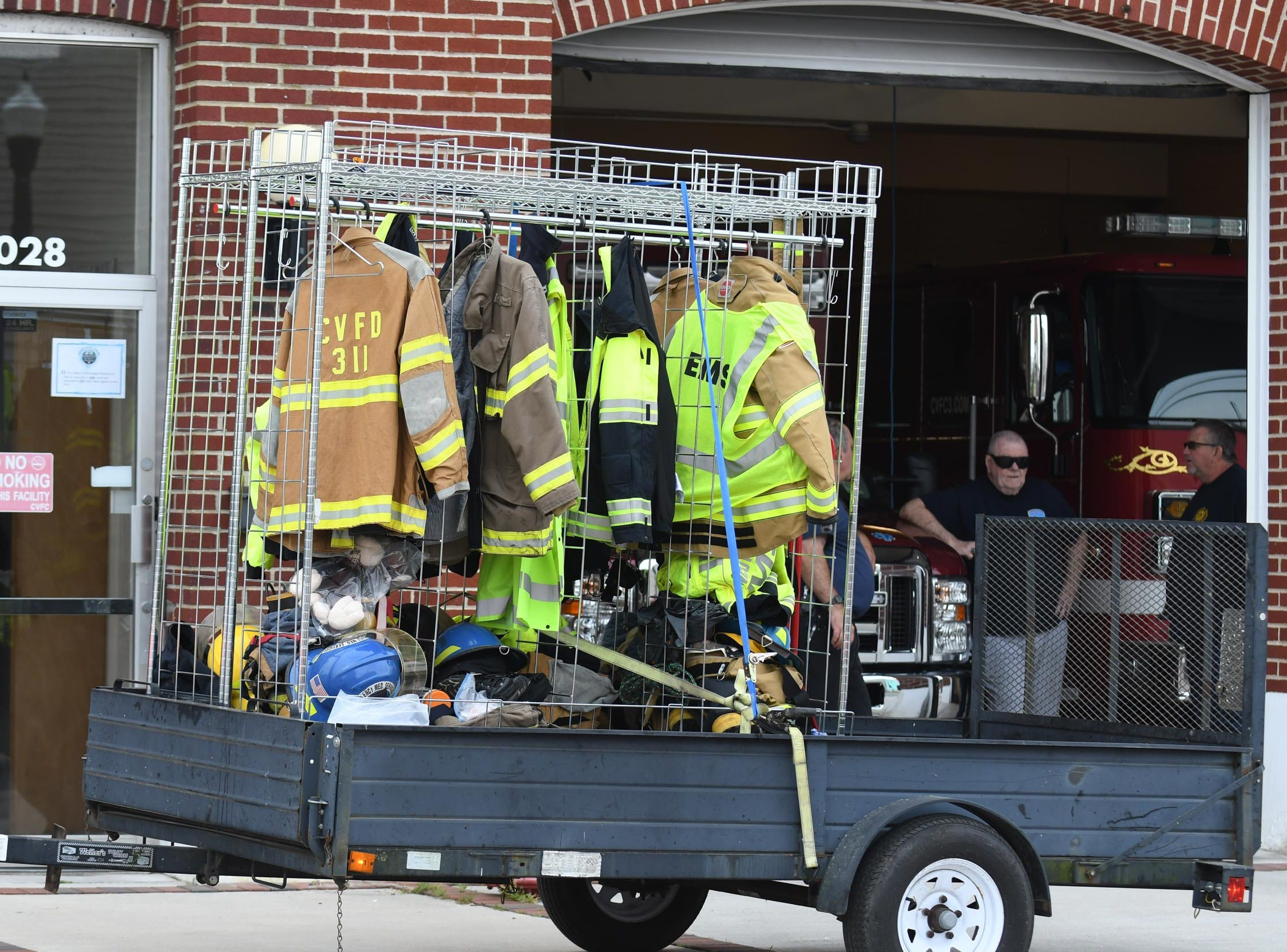 The Chincoteague Volunteer Fire Department has started the move from the old building to the new building located at 5175 Chicken City Road in Chincoteague, Va. on Wednesday, May 1, 2019.