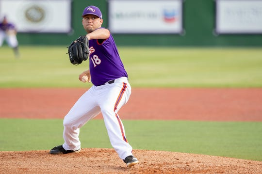 Northwestern State pitcher Jerry Maddox led the Demons to victory against Louisiana Tech on Tuesday.