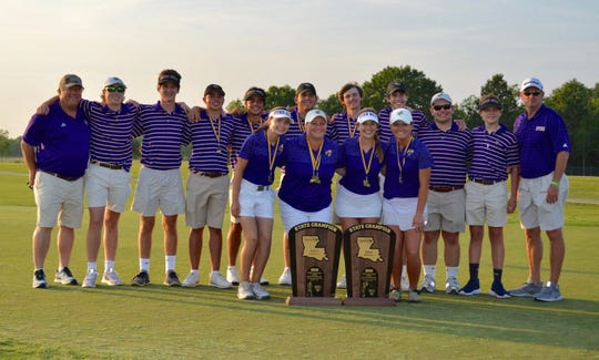 The Byrd boys and girls golf teams captured state championships Tuesday.