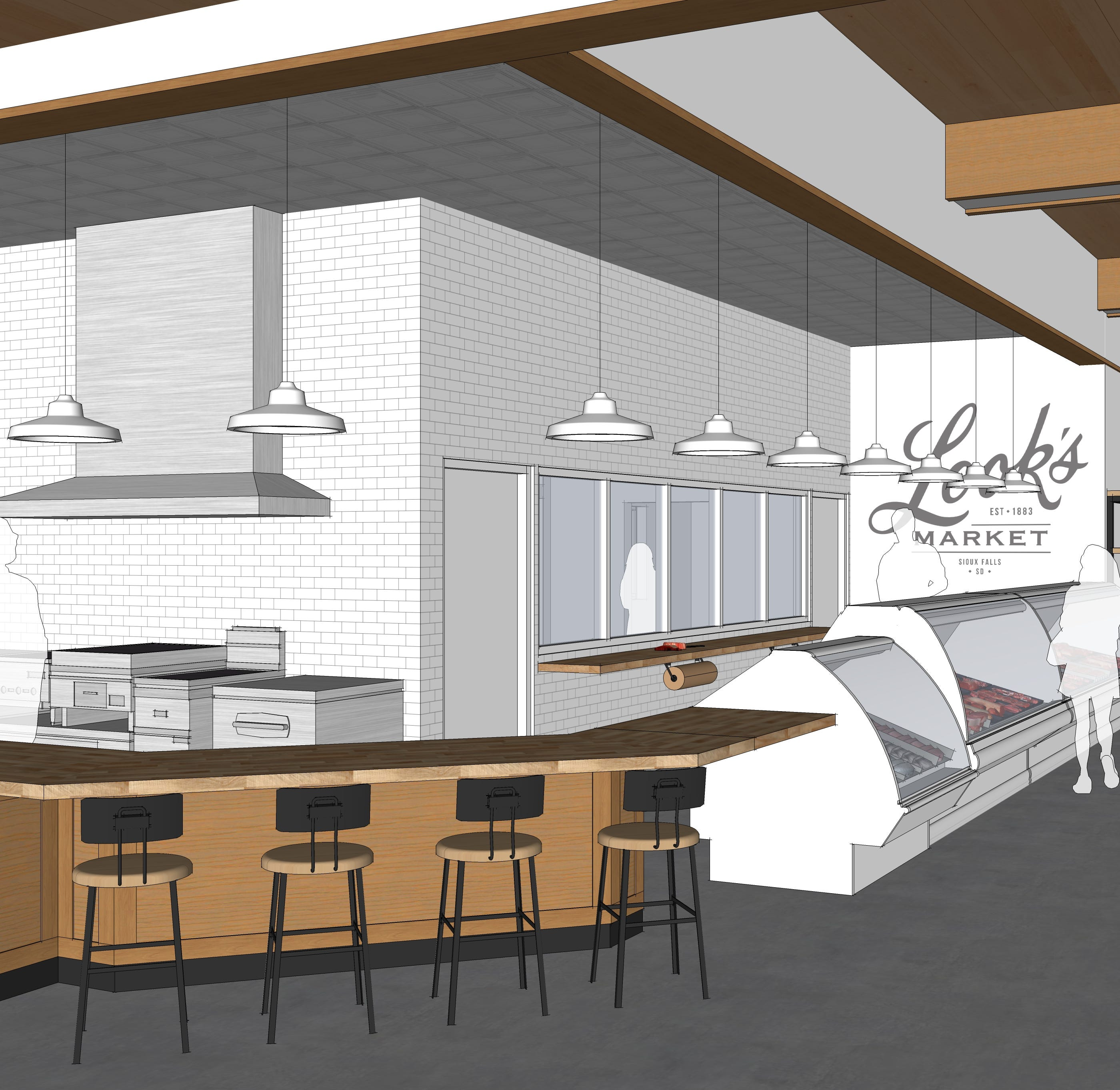See the Look's Market plans for the former C.J. Callaway's