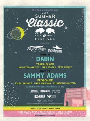 The 2019 605 Summer Classic lineup