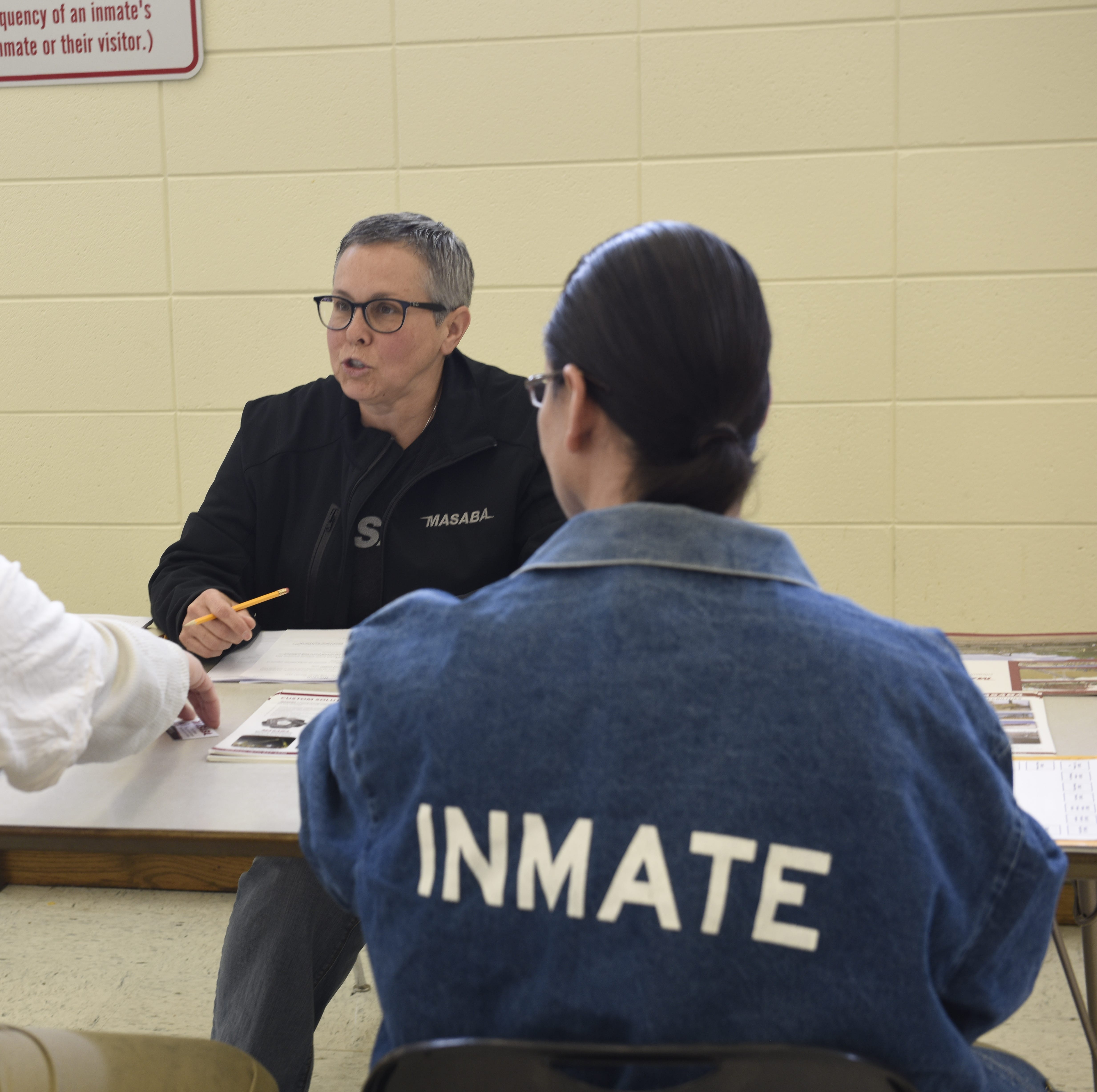 Seeking a second chance: Inmates meet prospective employers at prison job fair