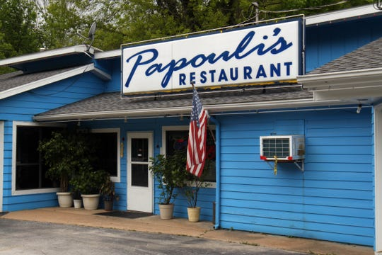 A file photo of the exterior view of Papouli's in Reeds Spring.