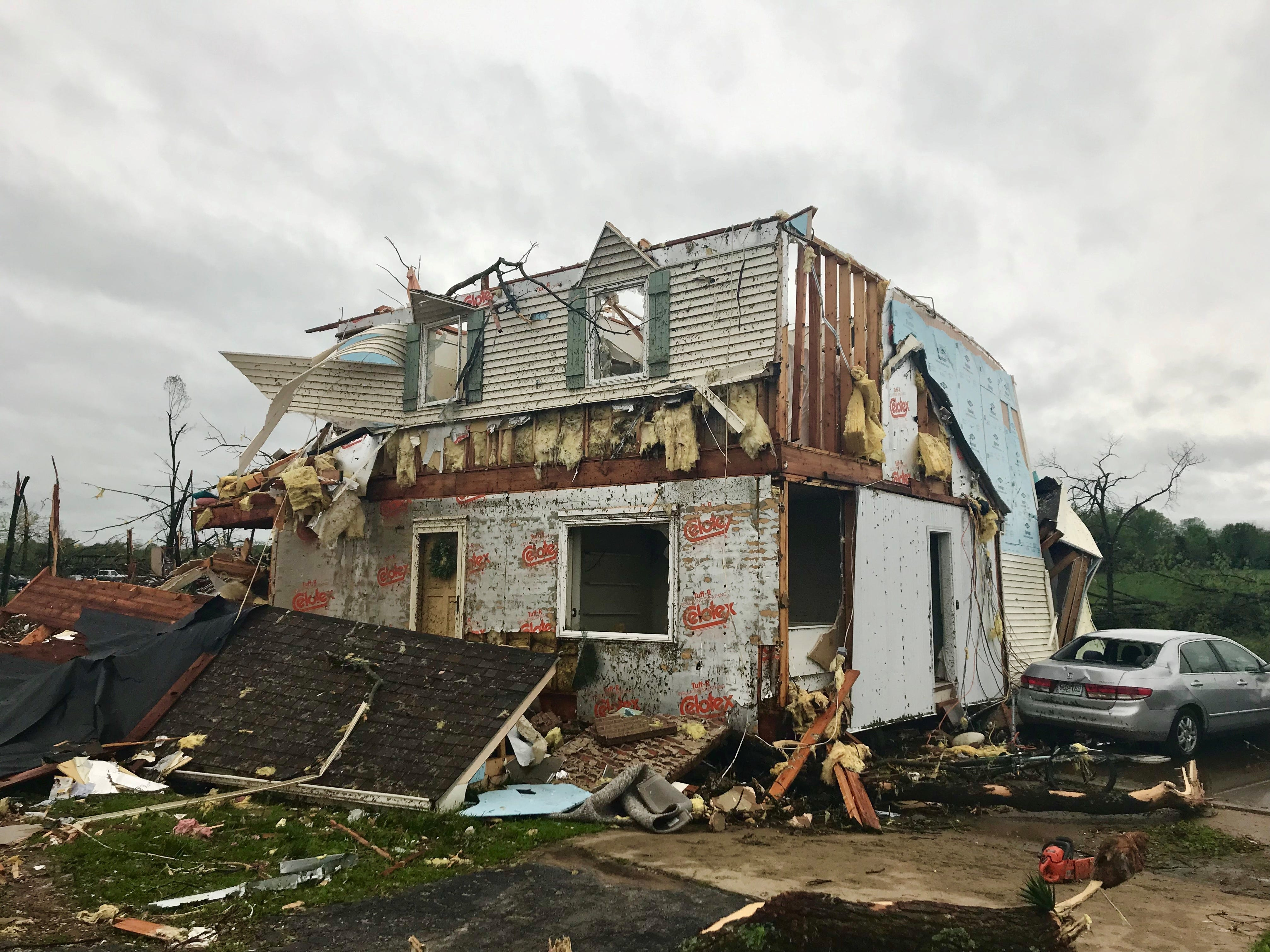 Rogersville home destroyed while family away seeking cancer treatment