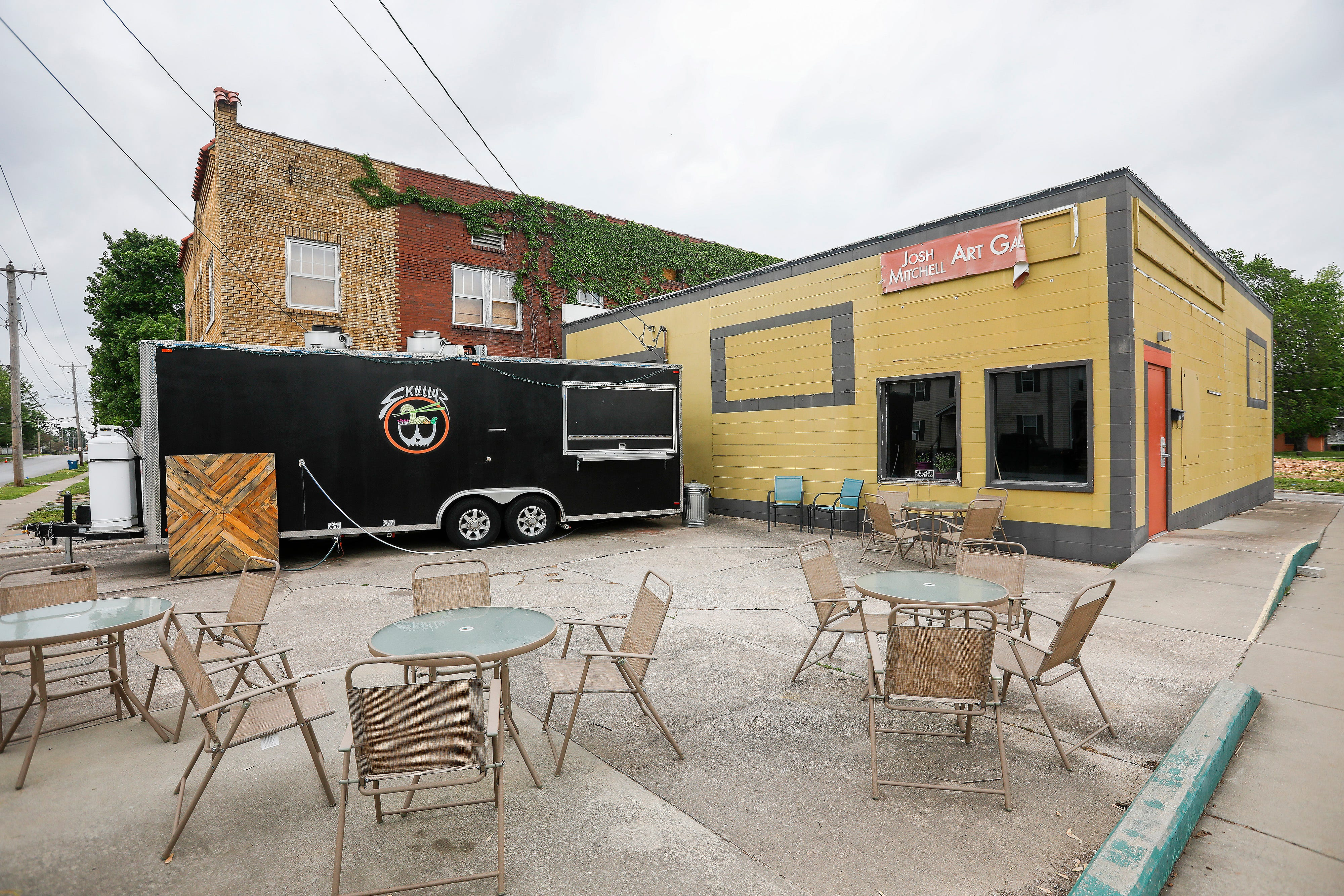 The Royal music hall and Skully's Food Truck will be moving into the former Josh Mitchell Art Gallery building at the corner of Cherry Street and Pickwick Avenue.