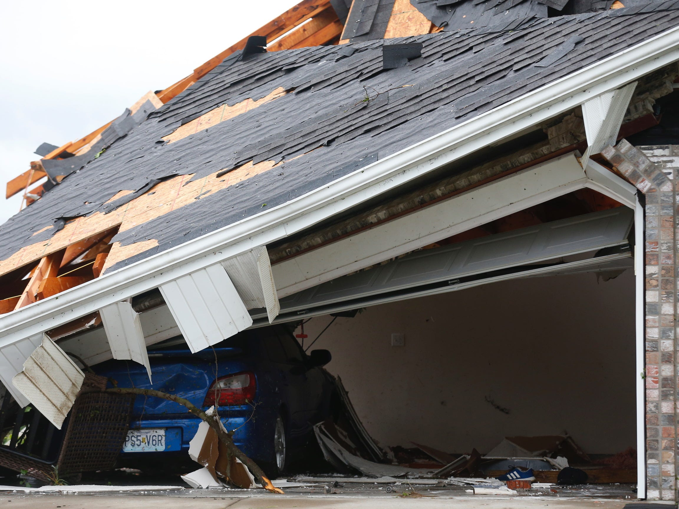 Weather damage in Ozark