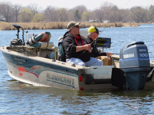Many anglers use the early season as a time to catch some fish as well as check their gear.