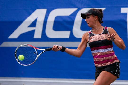FSU sophomore Emmanuelle Salas' 23 wins this season are second-most on the team.