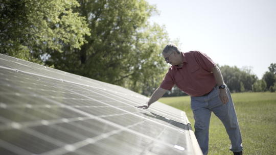 Solar panels - you know you've been thinking about them. With C-PACE its doable!