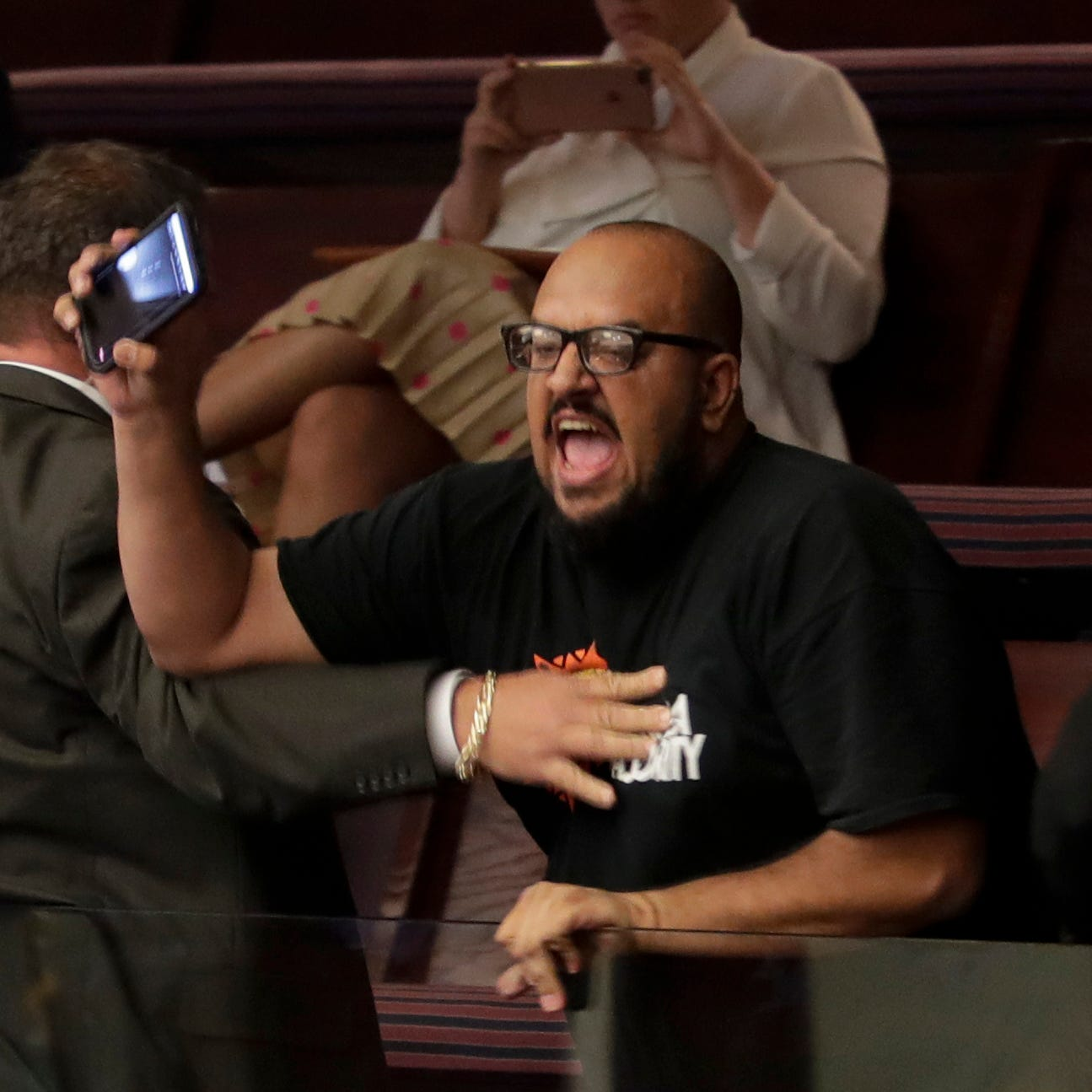 Florida 'sanctuary cities bill' heads to Senate hours after protesters ejected from House