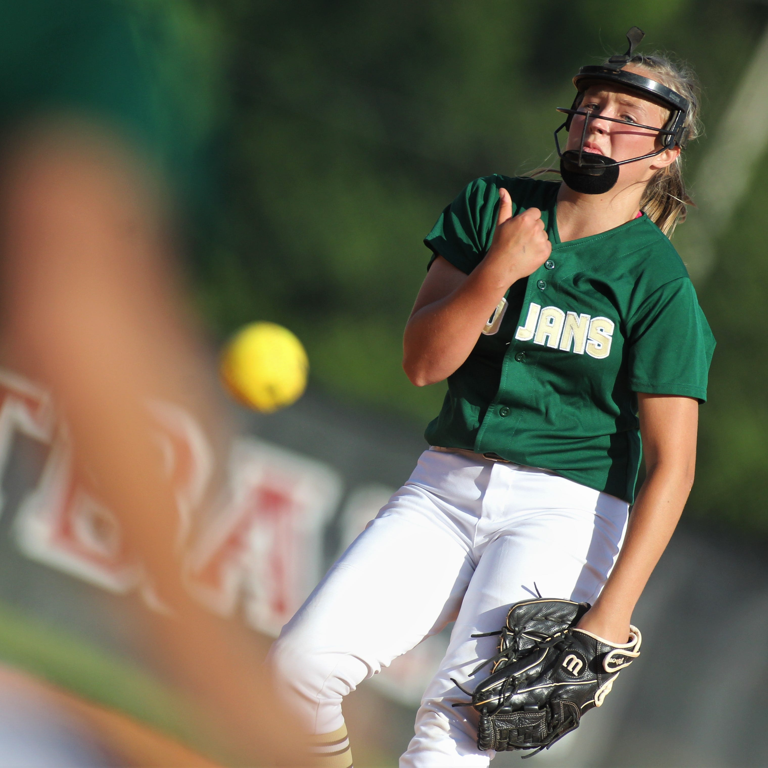 District softball: Lincoln rides two pitchers, hot bats to semifinal win over Leon