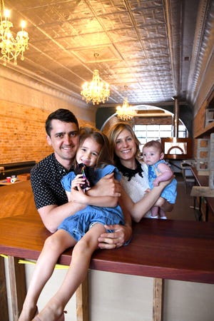 Gallagher Dempsey is a Tallahassee native and Florida State grad, but he and his wife Nicole moved to Bainbridge several years ago with plans to open a craft brewery. The Gallagher family includes daughter Ani, 4, and son Jak, 2 months.