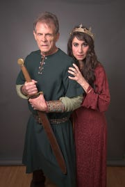 "Marc Singer, best known for the '80s ""Beastmaster"" movies and the TV show ""V"" plays the title role, with Laura Johnson as his Lady, in Southern Shakespeare's production of ""Macbeth."""