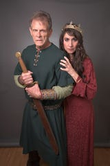 """Marc Singer, best known for the '80s """"Beastmaster"""" movies and the TV show """"V"""" plays the title role, with Laura Johnson as his Lady, in Southern Shakespeare's production of """"Macbeth."""""""