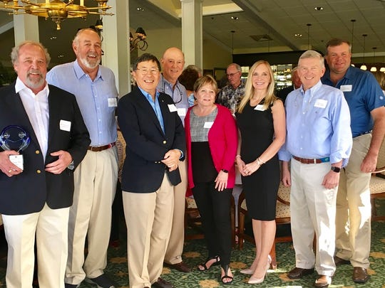 Mariner Sands Charity Week Board members, from left, Jeffrey Black, Jack Flanagan, Robert Kung, Paul Lorenz, Barbara Wahle, Jennifer Wilson, Kirk Gillies and Kenneth Slowik.