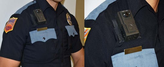 Photos of the body cameras purchased by the El Paso Police Department.