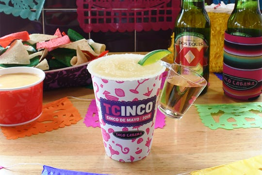 Enjoy some special drinks and salsa dancing at the Westside Taco Cabana on Saturday.