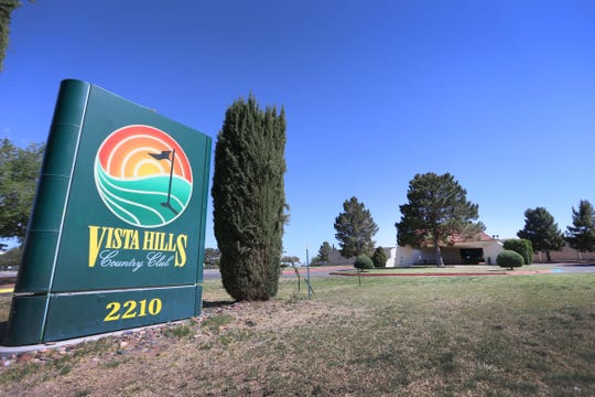 Vista Hills Country Club sits vacant Wednesday, May 1, at 2210 Trawood Dr. in El Paso. The golf course closed Tuesday after 45Êyears of operation.