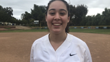 Samantha Goodcase's RBI double keyed La Reina High softball's come-from-behind 2-1 win over visiting Fillmore in a CIF-SS Division 4 wild-card game