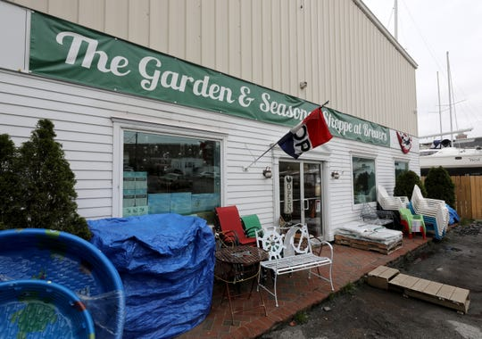 The exterior of the Garden and Seasonal Shoppe at Brewer's on Boston Post Road in Mamaroneck, May 1, 2019.
