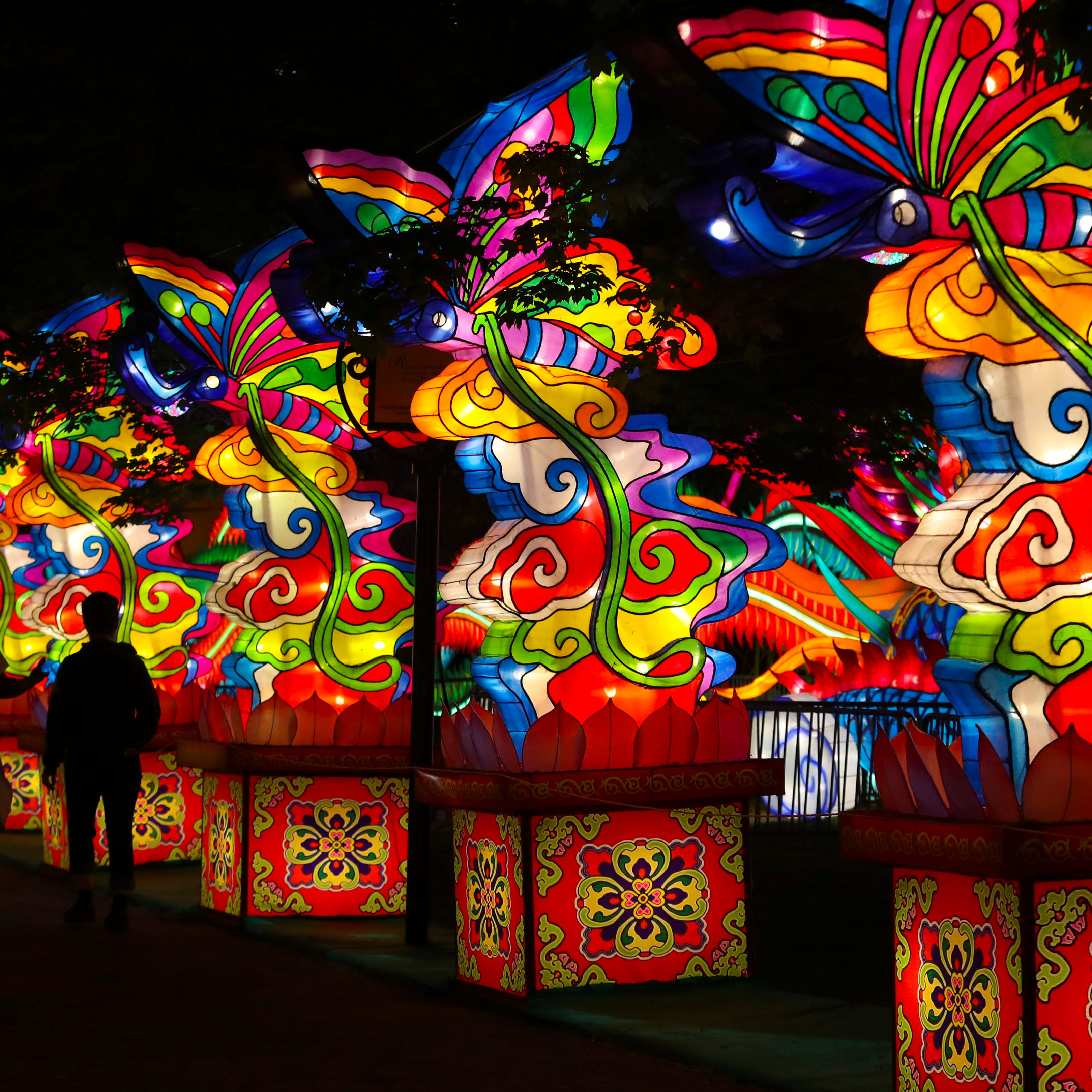Philadelphia Chinese Lantern Festival returns for another 'dreamlike' stint