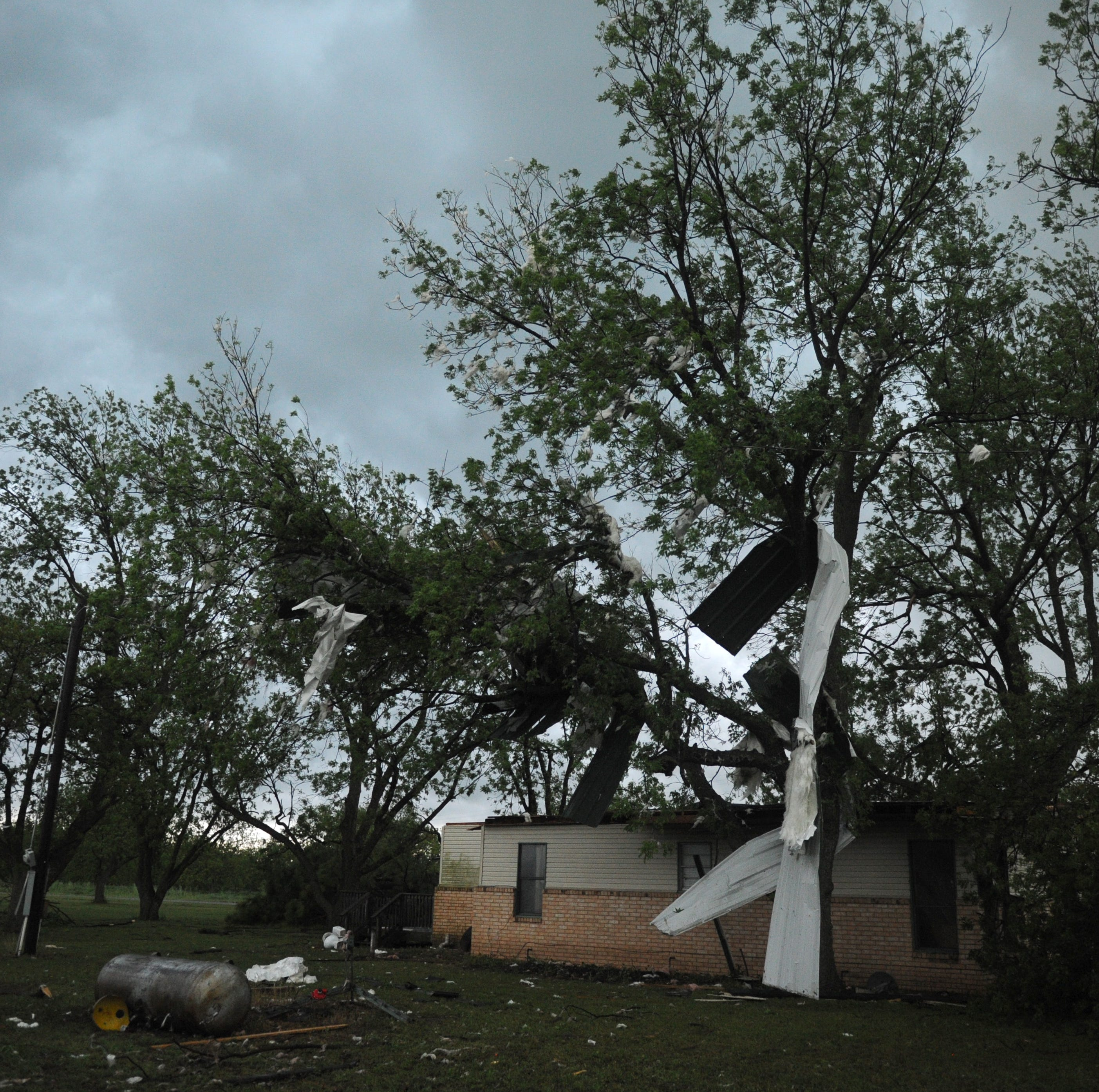 Wednesday storms producing tornadoes in North Texas