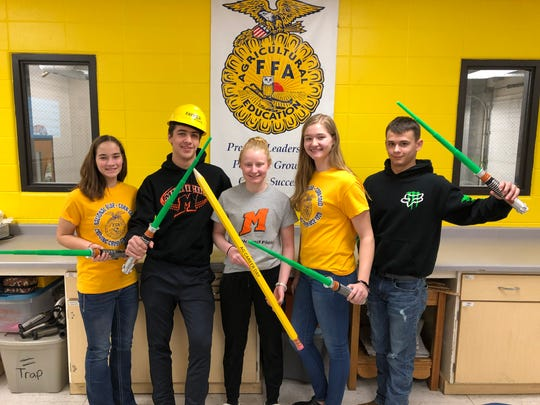 Mishicot High School FFA members helped unveil a video announcing the Ag Career Day Sign-up Challenge 2.0 for the upcoming Farm Technology Days in Jefferson County.